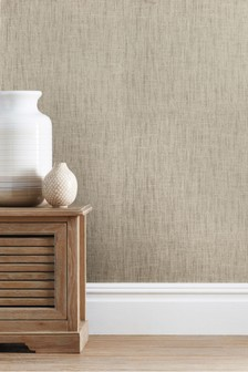 Paste The Wall Luxury Linen Look Wallpaper
