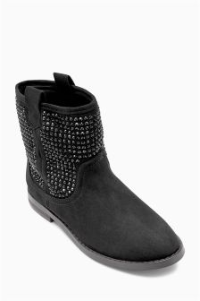 Jewel Stud Boots (Older Girls)