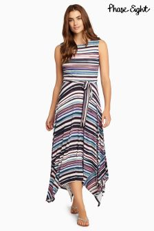 Phase Eight Multi Gwyn Stripe Dress