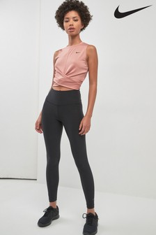 Nike Black High Waisted Sculpt Hyper Tight