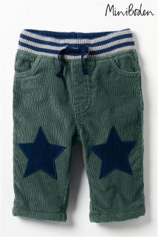 Boden Green Star Patch Trouser