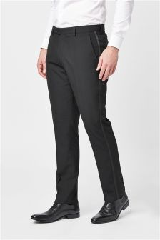Tuxedo Slim Fit Suit: Trousers