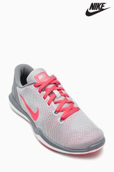 Nike Grey/Red Flex Supreme TR 5