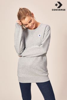 Converse Grey Oversized Sweater