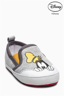 Goofy Slip On Pram Shoes (Younger Boys)