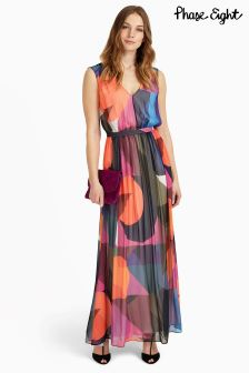 Phase Eight Multi Phoenix Printed Maxi Dress