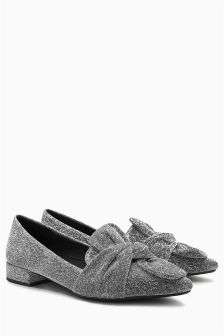 Bow Point Slipper Shoes