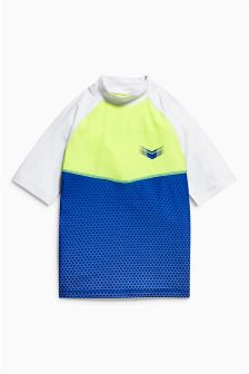 Colourblock Rash Vest (3-16yrs)
