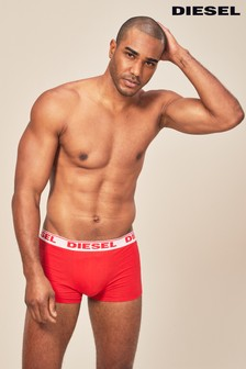 Diesel® Blue/Navy/Red Boxers Three Pack