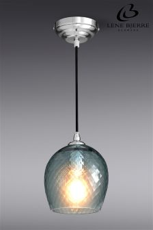Lene Bjerre Mais Smoked Glass Pendant Light