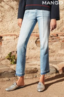 Mango Light Wash Rework Jean