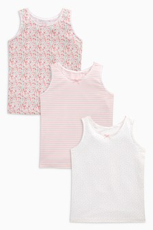 Vests Three Pack (1.5-16yrs)