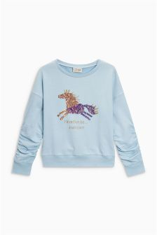 Sequin Unicorn Sweater (3-16yrs)