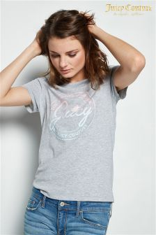Juicy Couture Grey Ombre Graphic T-Shirt
