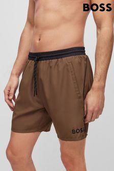 Joules Purple Gingham Classic Fit Hewney Shirt