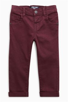 Five Pocket Stretch Twill Trousers (3mths-6yrs)