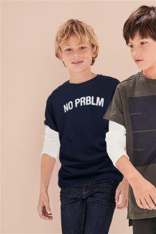 Slogan T-Shirt (3-16yrs)