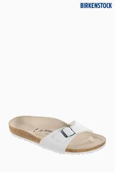 Birkenstock® White Madrid Sandal
