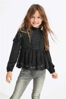 Lace Blouse (3-16yrs)