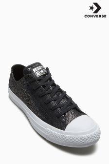Converse Black/White Tipped Chuck Ox