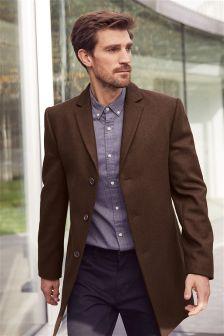 Italian Fabric Epsom Coat