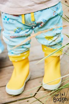 Boden Blue Supersoft Reversible Trouser