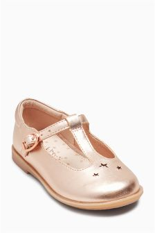 Star T-Bar Shoes (Younger Girls)