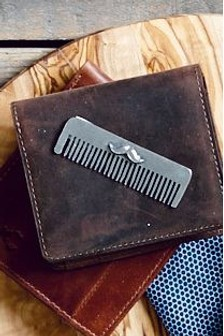 English Pewter Company Beard Comb