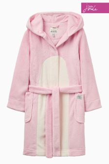 Joules Rose Pink Character Dressing Gown