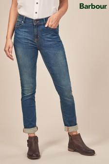 Barbour® Worn Blue Essential Slim Jean