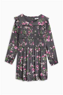 Floral Ruffle Dress (3-16yrs)