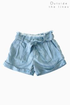 Outside The Lines Chambray Short
