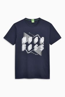 Boss Green Navy Teeos T-Shirt