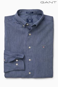 Gant Blue Tech Prep Oxford Shirt