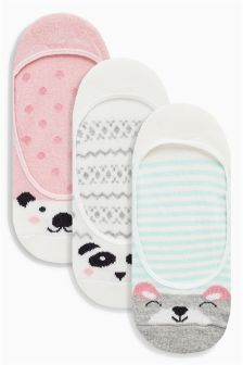 Pattern Animal Footsies Three Pack