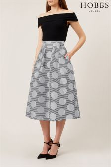 Hobbs White May Skirt