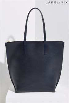 Mix/Mimi Berry Leather Walter Bag
