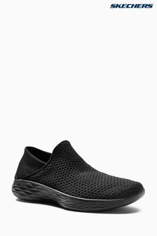 Skechers® Black You Gore Slip On