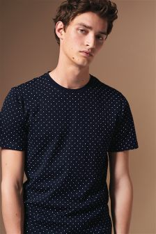Dot Print T-Shirt