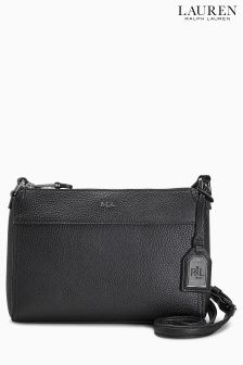 Lauren Ralph Lauren Brooklyn Black Twilight Cross Body Bag