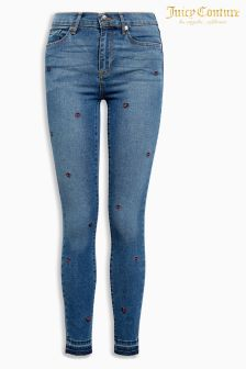 Juicy Couture Ladybird Embroidered Skinny Fit Jean