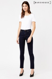 Warehouse Raw Powerhold Skinny Cut Jean