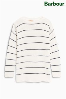 Barbour® White Stripe Jumper