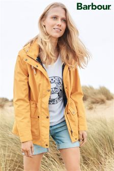 Barbour® Yellow Rain Jacket