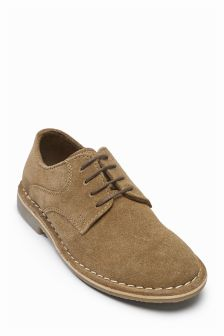 Suede Derby Shoes (Older Boys)