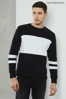 Calvin Klein Black Hoop Sweatshirt