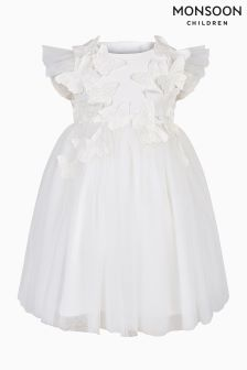 Monsoon Ivory Baby Flourish Dress