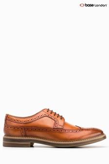 Base London® Tuner Tan Lace-Up Shoe