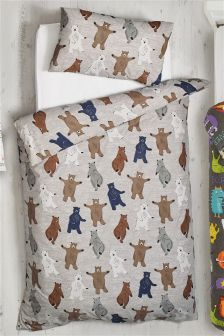 Barney Bear Bed Set