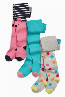 Bright Tights Three Pack (0mths-6yrs)